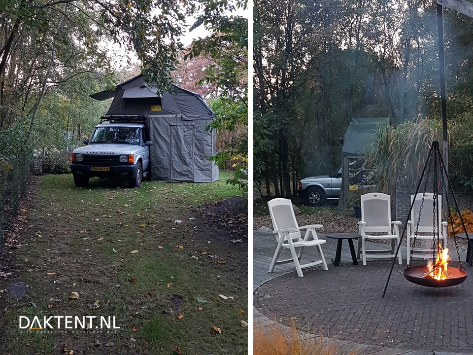Discovery 2 daktent T-Top